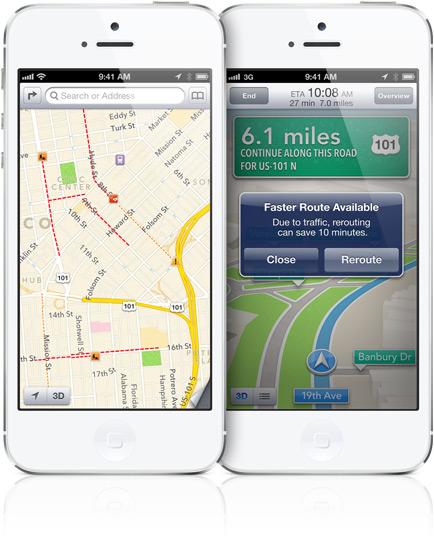 Make Apple Maps smarter with traffic alerts.