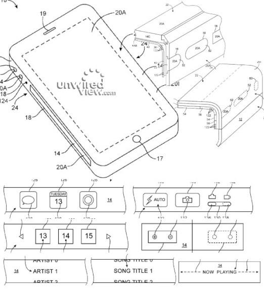 iPhone-flexible-sidewall-display