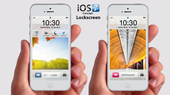 An iOS 7 concept with plenty of customization options