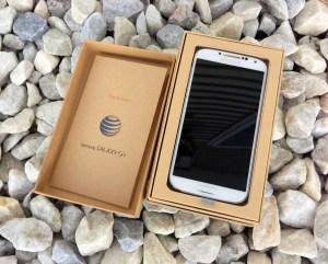 The AT&T was the first Galaxy S4 to land on U.S. soil.