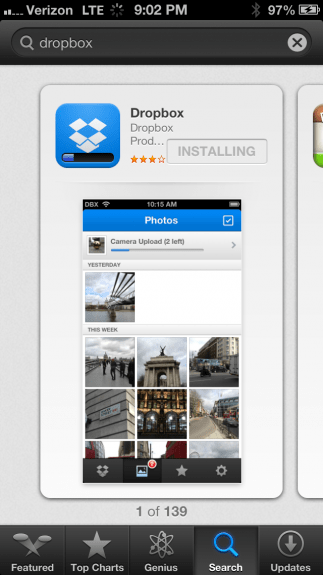 Dropbox App Store