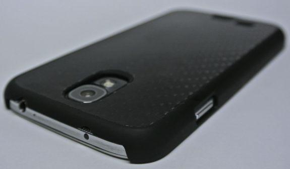cygnett black carbon fibre case for samsung galaxy s4 back