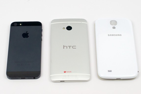 A Verizon HTC One will face stiff competition.
