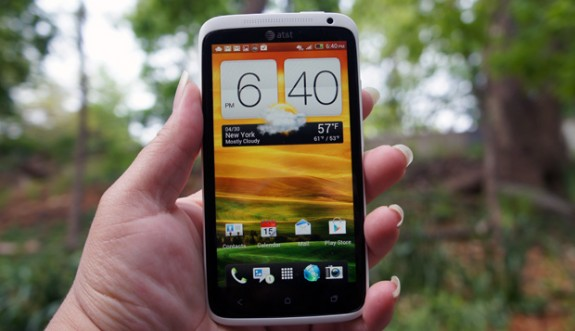 The HTC One X Android 4.2 update hit a snag, it seems, at SFR.