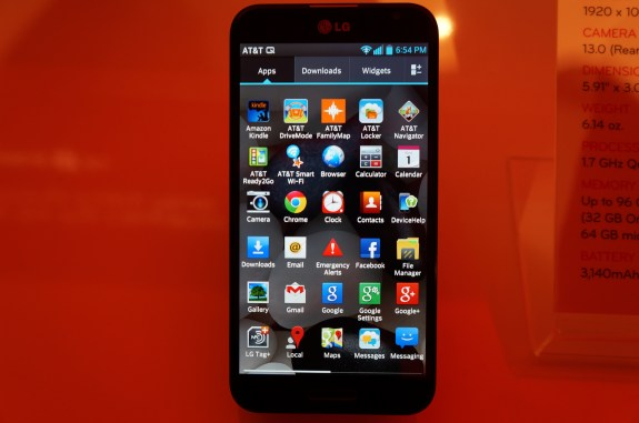 The Optimus G Pro is an alternative worth looking at.