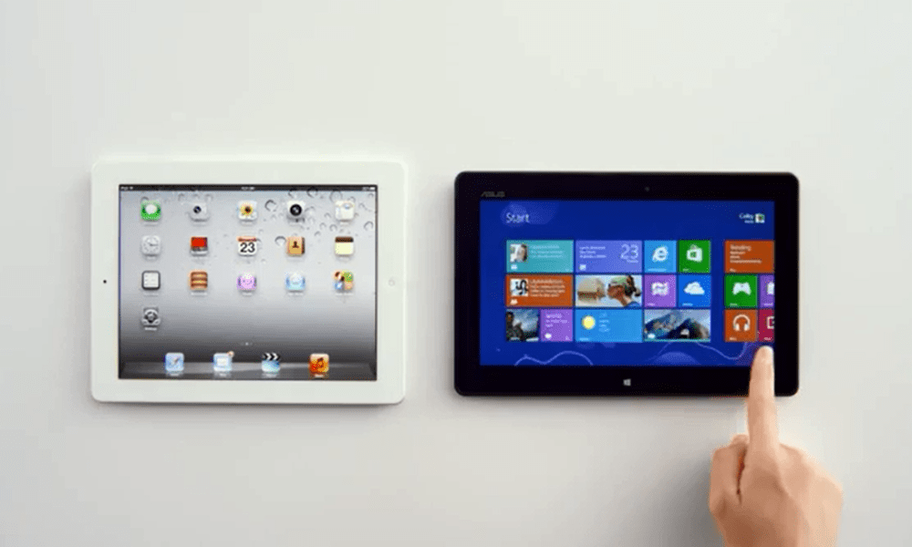 Microsoft Goes After iPad Using Siri in new Windows 8 Ad