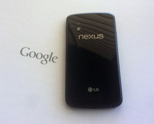 The Nexus 4 is part of Google's new focus on design and build quality.
