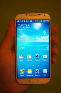 The Galaxy S4 will be cheaper than the Galaxy Note 3.