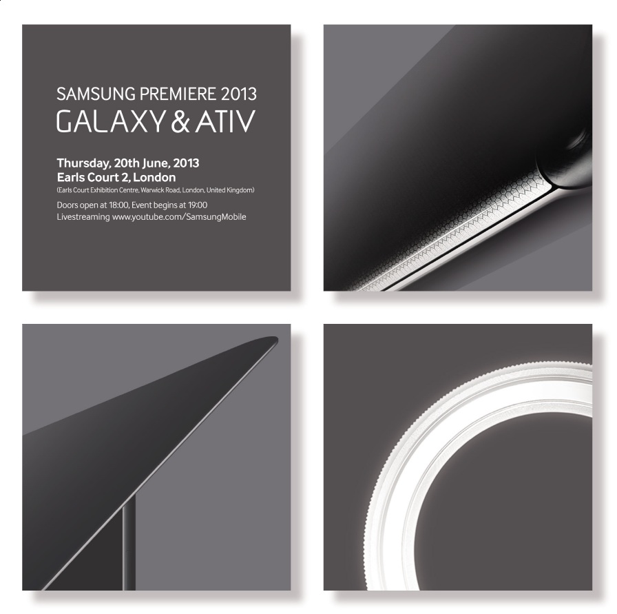 Samsung Galaxy Event On June 20 S4 Mini More Likely Zoom Black A 20th Will Welcome In The And Active