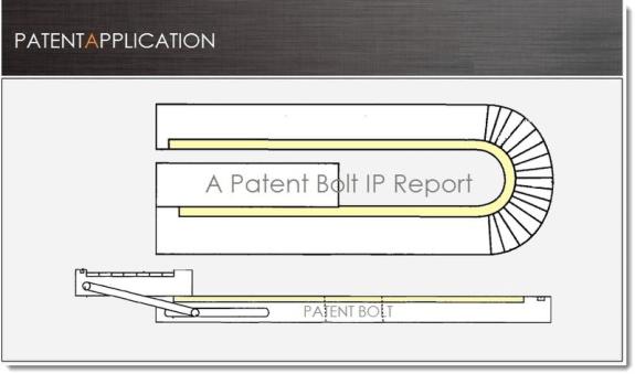 blackberry flexible phone patent