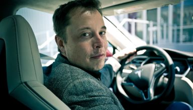 Elon Musk, CEO of Tesla Motors