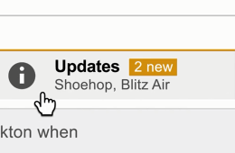 The new Gmail categories feature.