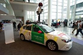 A Google Maps Street View Toyota Prius