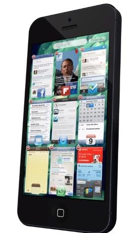 iOS 7 Concept - Multitasking.