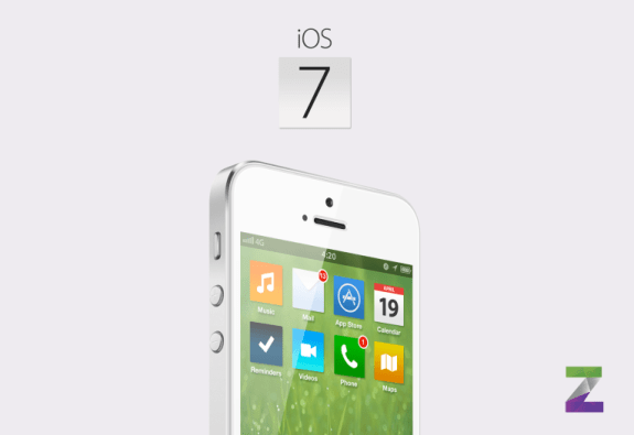 The best look at how iOS 7 could look.
