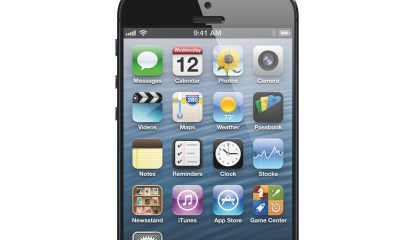 The iPhone 5S could feature a higher resolution display with a narrower bezel, similar to the iPad mini.
