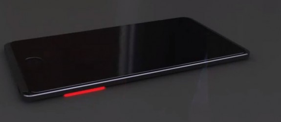 This iPhone 6 concept adds a glowing notification LED to each side of the iPhone.