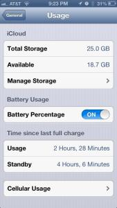 iPhone 5 owners are complaining about battery life issues in iOS 6.1.4.