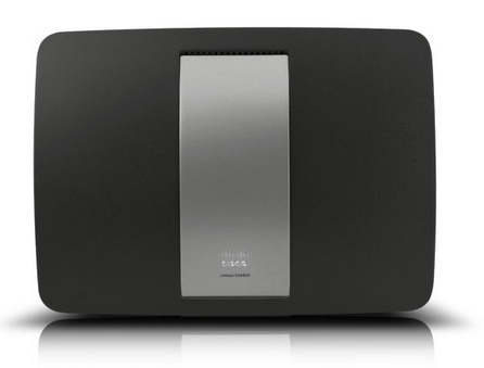 liksys ea6500 wireless router top
