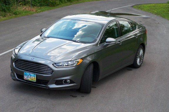 The 2013 Ford Fusion.