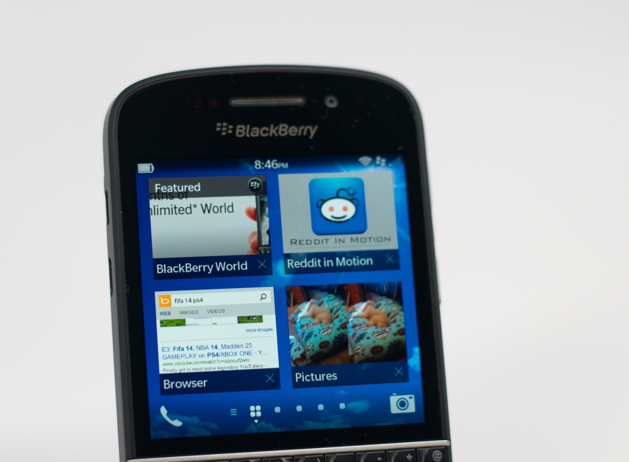 Verizon Blackberry Q10 Review 4g Lte Theres Is A Small Learning Curve To 10 But It Easy Pick Up And Gestures Taps Are More Reliable On The Than Z10