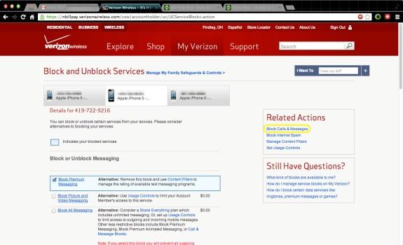 Block Calls_Messages