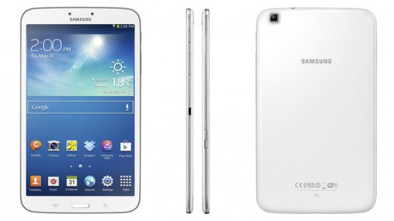 The Samsung Galaxy Tab 3 8.0