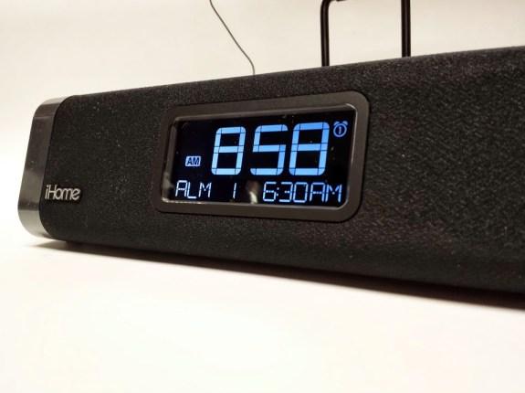 ihome idl45 clock display