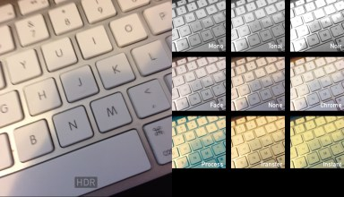 The iOS 7 camera app is new, with a few new tricks and a new look.