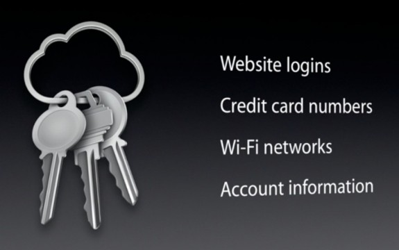 iCloud Keychain syncs your information across iOS and OS X.