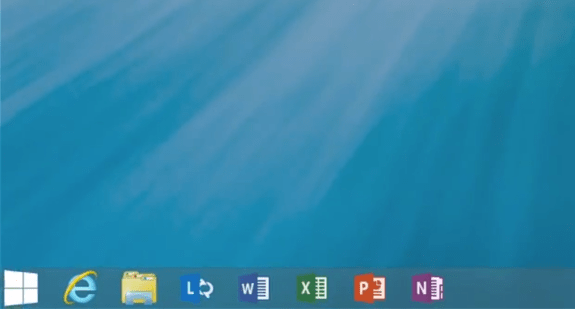 Windows 8.1 brings back the start button.