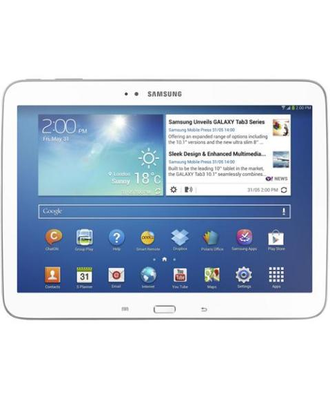 The Samsung Galaxy Tab 3 10.1
