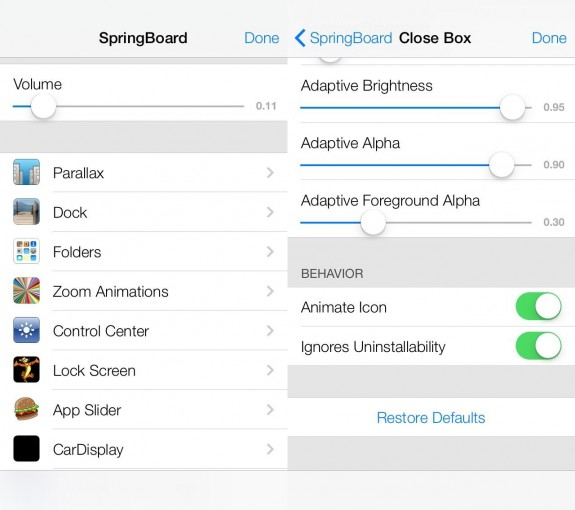 A set of secret iOS 7 settings  show what Apple is testing for iOS.