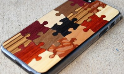 random puzzle carved case