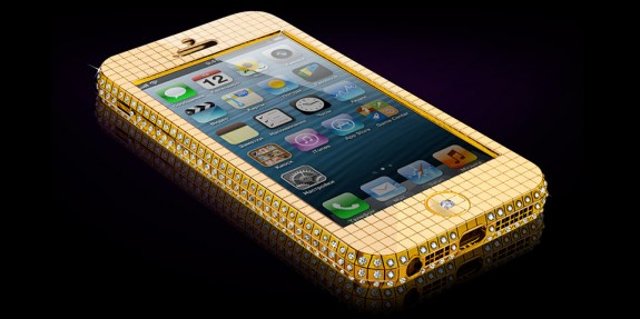 This diamond encrusted iPhone 5 is over $100,000.