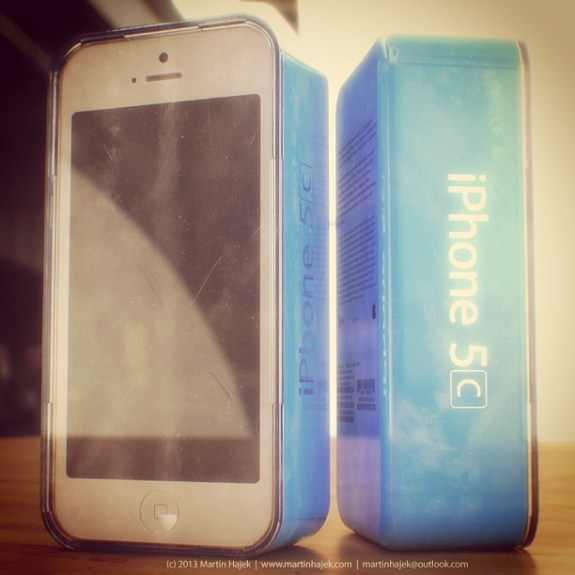 The iPhone 5C is rumored for arrival later on this year.