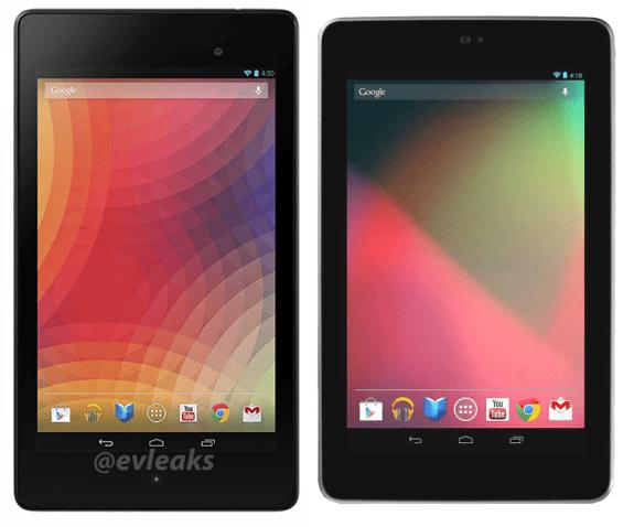 Compared to original first generation Nexus 7