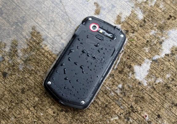 The Casio G'zOne Commando 4G LTE features a rugged, masculine design.