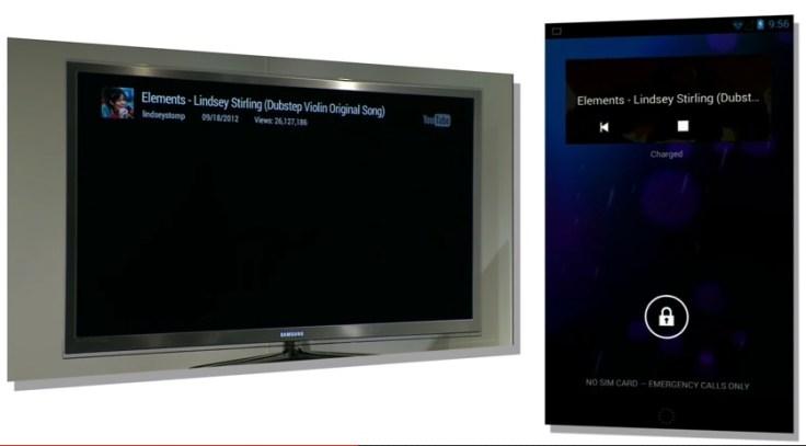 Chromecast Lock Screen Control