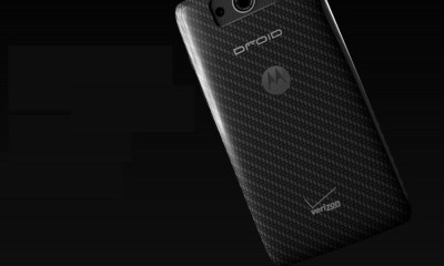 The back of the Droid Maxx is covered in Kevlar.