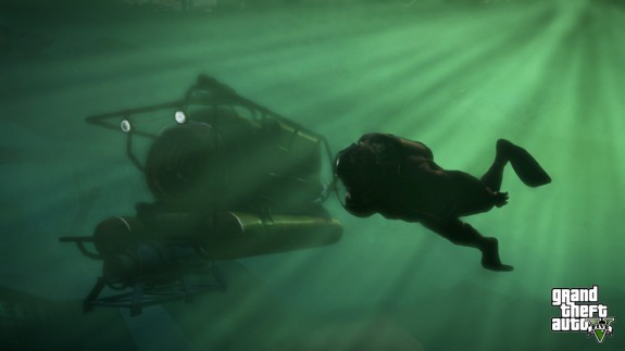 There is a submarine in GTA 5.
