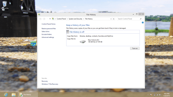 How to Back Up and Restore your Windows 8 PC to a hard drive 3