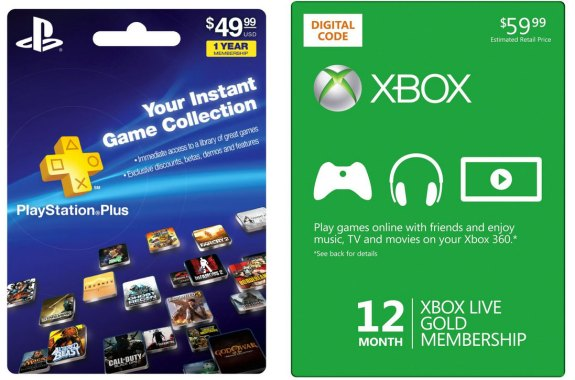 PlayStation-Plus-vs Xbox Live