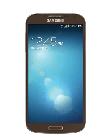 The Verizon Galaxy S4 has arrived in a new color.