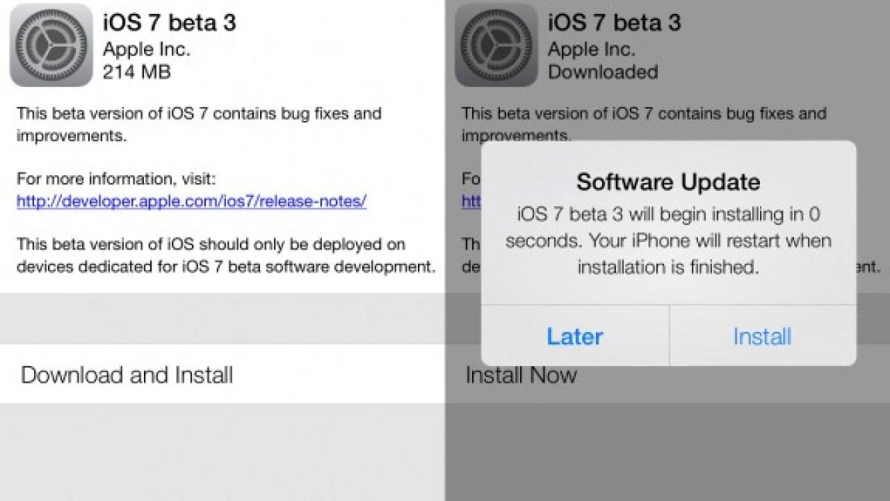 Apple Hack Could Delay iOS 7 Beta 4 Release, Slow App Updates