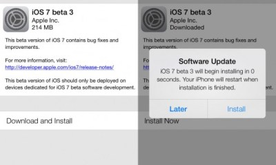 The iOS 7 beta 4 release could see a small delay as Apple recovers from a hack.