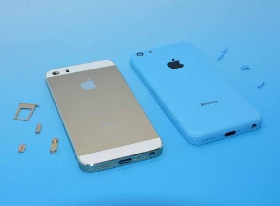 The iPhone 5S versus the iPhone 5C.