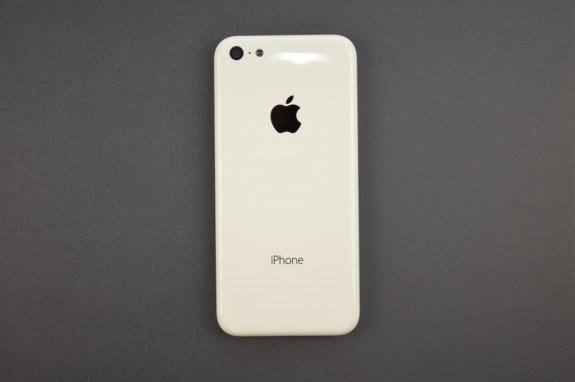 This could be the iPhone 5C.