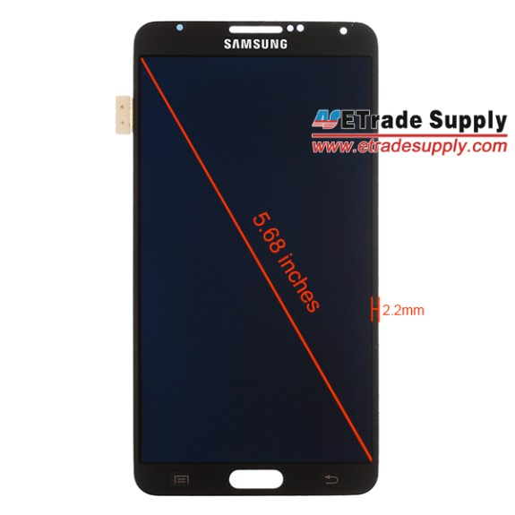 The Galaxy Note 3 display will be 5.68 inches according to a leaked replacement screen.