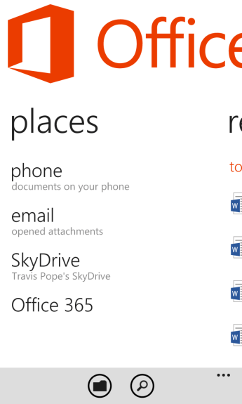How To Sync Documents to Windows Phone Using SkyDrive 6